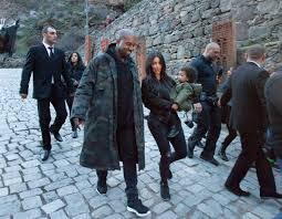 Kim Kardashian ve Kanye West Kudüs sokaklarında